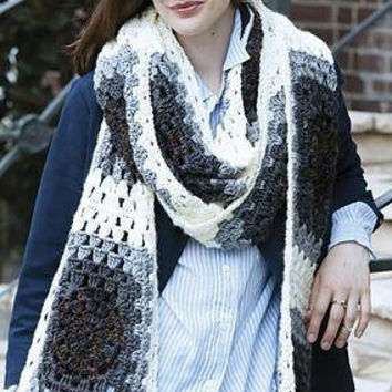 Super scarf Crochet scarf Womens scarf Oversized scarf Chunky scarf Fringe scarf Long scarf Knit scarf Gray scarf Blanket scarf Mens scarf