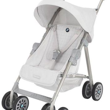 Maclaren Baby Junior BMW Play Buggy Toy Doll Stroller Silver NEW