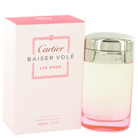 Baiser Vole Lys Rose Perfume by Cartier Eau De Toilette Spray
