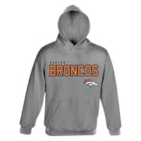 Denver Broncos Promo Fleece Hoodie - Boys 4-7, Size: