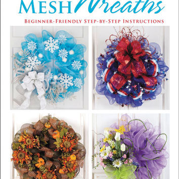 craft book -deco mesh wreaths