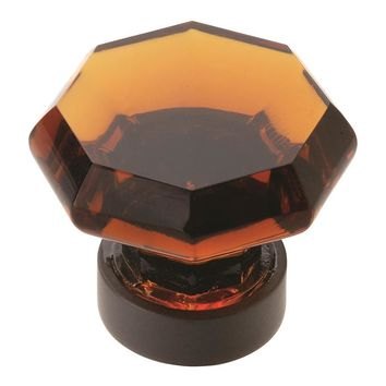 Amerock Traditional Classics Traditional Tempered Glass Cabinet Knob