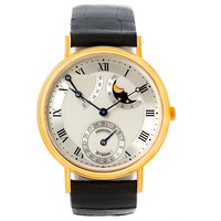 Breguet Classique Power Reserve Moonphase Yellow Gold Watch 3137BA/11/986