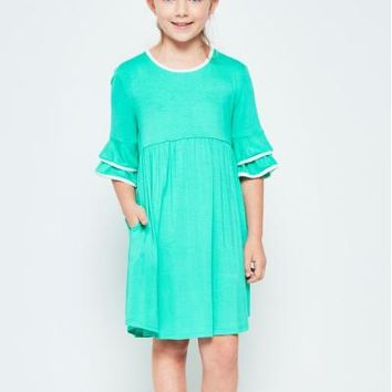 4545ae66791 Shop Baby Doll Dress With Sleeves on Wanelo