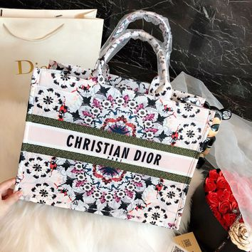 DIOR BOOK TOTE KALÉIDIORSCOPIC BAG