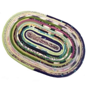 Oval Placemats, Table Mats, Made to Order, Handmade, Multicolor
