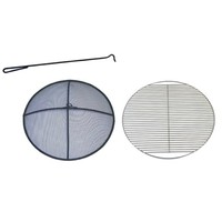 SheilaShrubs.com: Fire Pit Accessories Kit D047 by Patina Products: Fire Pit Accessories