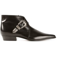 Saint Laurent 'Duckies 30' Double Buckle Desert Boot