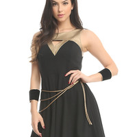 Her Universe DC Comics Wonder Woman Lasso Dress
