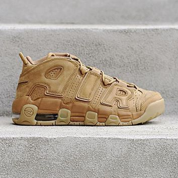 qiyif NIKE - Boys - GS Air More Uptempo - Flax