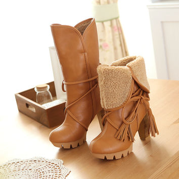 Brooklyn Leather 2 Way Boots