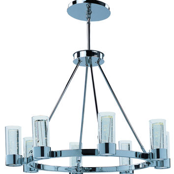 Sync 8-Light LED Ring Chandelier 20909 Contemporary