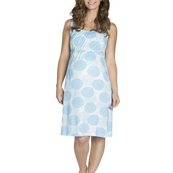 Eden Maternity & Nursing Sleeveless Nightgown