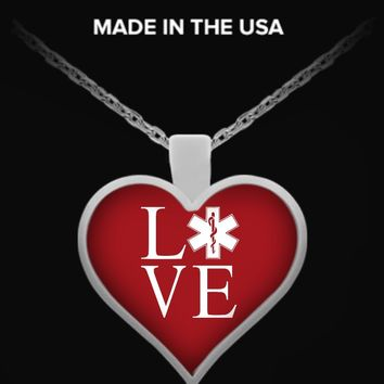 EMT - Paramedic Love Necklace