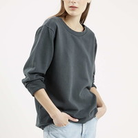 Washed Sweater - Topshop