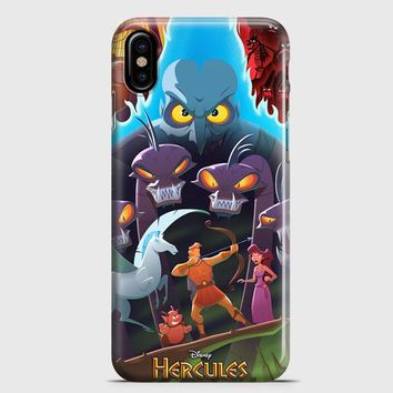 Disney Hercules Artwork iPhone X Case | casescraft