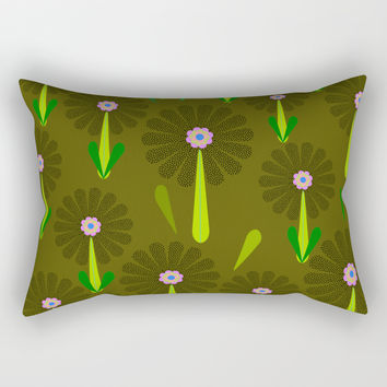 zappwaits Flower Rectangular Pillow by netzauge