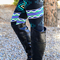 AZTEC CURRENT LEGGINGS - Default Title