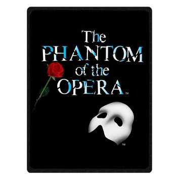 Musical The Phantom of the Opera Soft Flannel Fleece Kids Travel Blanket Winter Baby Nap Warm Blankets Customized Bedspread