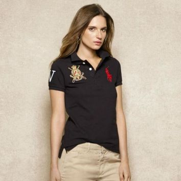 DCCKO03T NEW POLO RALPH LAUREN SHIRT WOMEN SHORT SLEEVE T-SHIRT