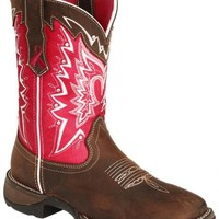 Durango Pink Ribbon Rebel Cowgirl Boots - Square Toe - Sheplers