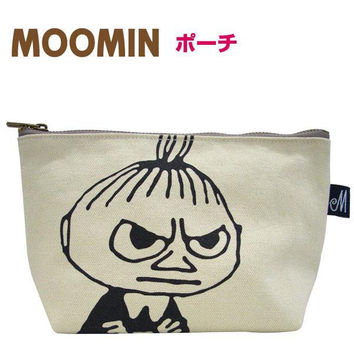 Moomin Cotton Pouch (Little My / Face)