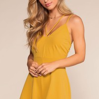 Dream It Romper - Honey