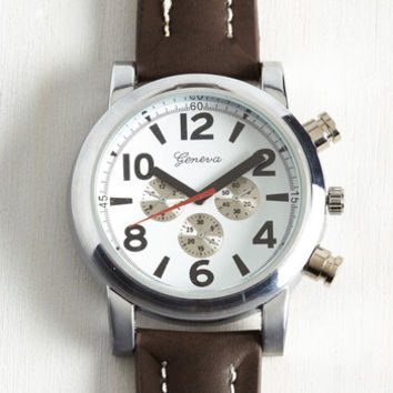 Tick With the Plan Men's Watch | Mod Retro Vintage Watches | ModCloth.com