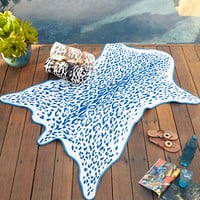 Jaguar Hide Beach Towel