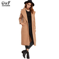 Winter Long Peacoat