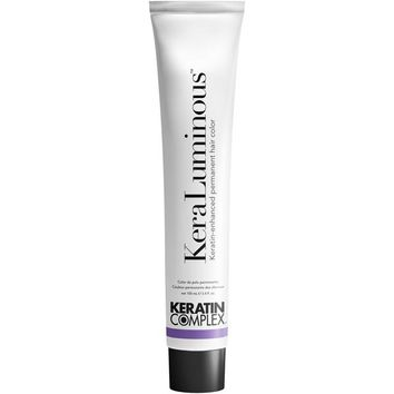 Keratin Complex KeraLuminous Keratin-Enhanced Permanent Hair Color 3.4 Oz