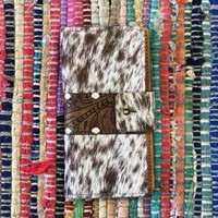 Cow Hide & Leather phone case
