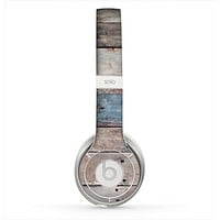 The Multicolored Tinted Wooden Planks Skin for the Beats by Dre Solo 2 Headphones