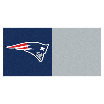 New England Patriots NFL Team Logo Carpet Tiles