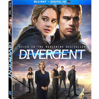 Walmart: Divergent (Blu-ray + DVD + Digital HD) (Walmart Exclusive) (Widescreen)