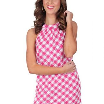 Irresistible Dress In Pink Gingham | Monday Dress Boutique