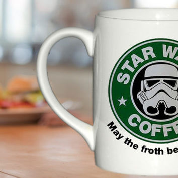 Star Wars Coffee  custom cup for family and friends mug