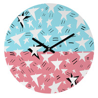 Amy Smith They Come In All Sizes Round Clock