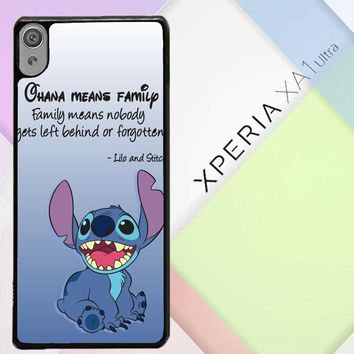 Lilo And Stitch Quotes R0098 Sony Xperia XA1 Ultra Case
