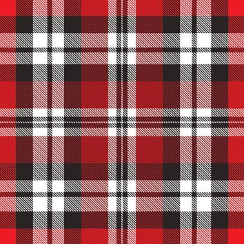 Bulk Ream Roll Gift Wrap Wrapping Paper, Authentic Plaid