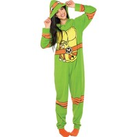 Adult Teenage Mutant Ninja Turtle One Piece Pajama