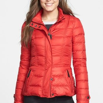 Women's Burberry Brit 'Dalesbury' Quilted Down Jacket