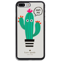 Top Kate Spade.00X Cactus Hug Fit Case For iPhone 6 6s 7 8 Plus X Samsung Cover