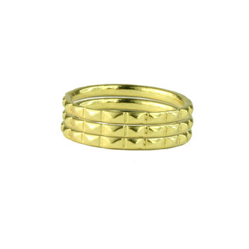 Skinny Stackable Stud Ring
