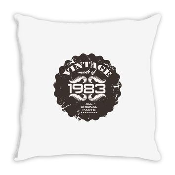 vintage made of 1983 all original parts Throw Pillow