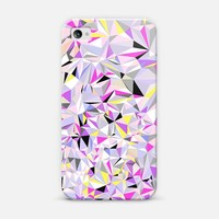 Grey + Pink + Yellow iPhone 4/4S case by House of Jennifer | Casetify