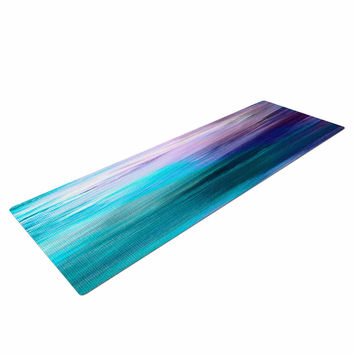 "Ebi Emporium ""Irradiated Multi 3"" Teal Lavender Yoga Mat"