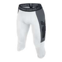 "Nike Pro Combat Hyperstrong Compression Diamond Thief Slider 17"" Men's Baseball Shorts"