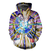 Super Saiyan Goku Dragon Ball Z Hoodie