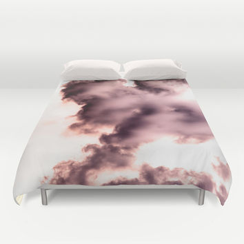 Smoke chemical Duvet Cover by VanessaGF